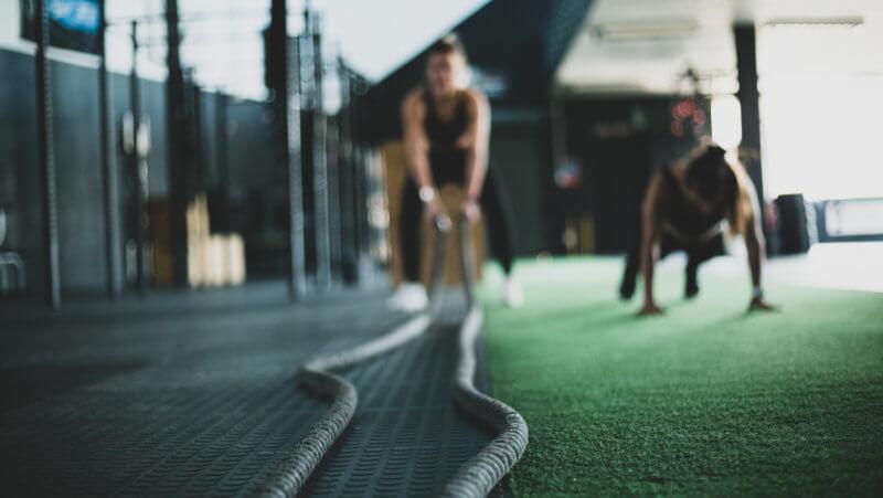Träning-på-gym